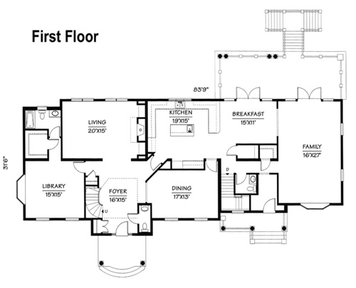 Two Story Home Plan The Laurelcrest The Modular Home Group