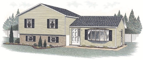 Split Level Floorplan The Richfield The Modular Home Group