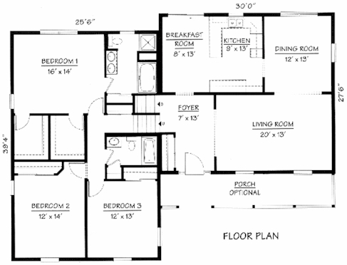 Split level floorplans house design Split level house plans